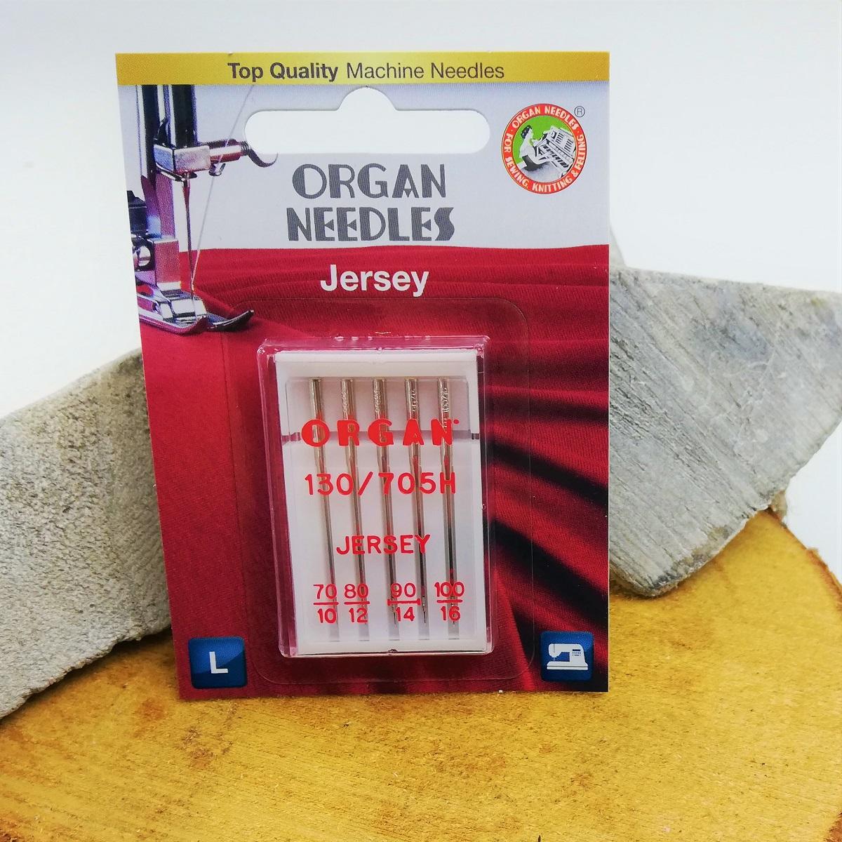 Organ Needles Organ 130/705 H Jersey a5 st. 070/100 Blister