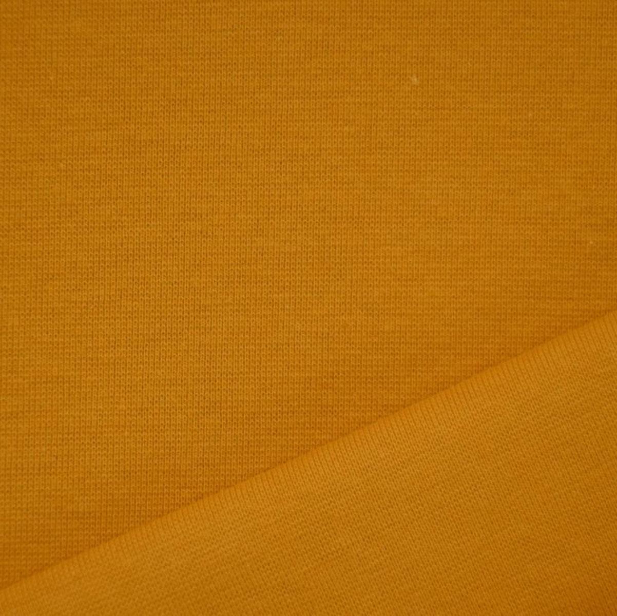 50cm Bündchen / Schlauchware glatt senf 5010