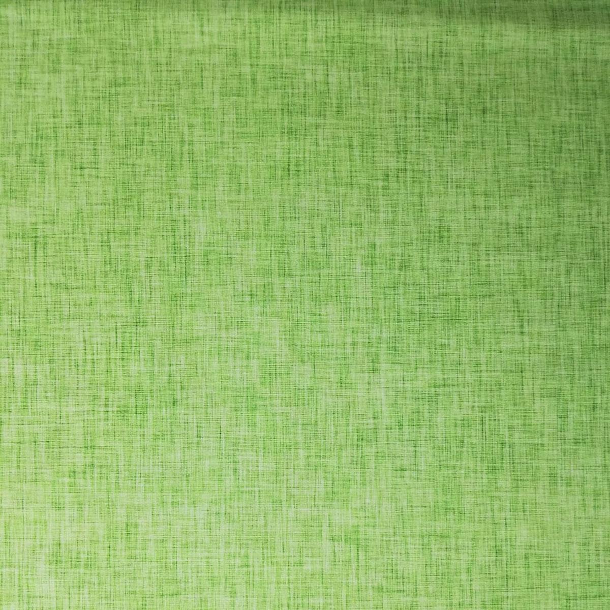 "Jersey Leinenprint ""hellgrün"" Meterware"