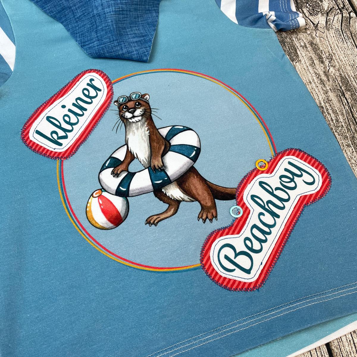 """Jersey Panel  Otter """"Beach Boy"""" Stückware"""
