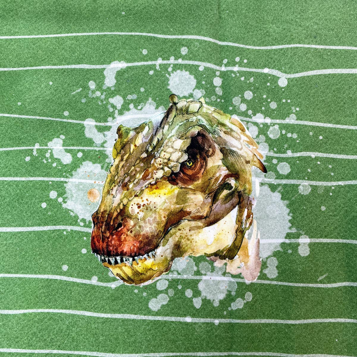 """Jersey Panel """"T-Rex"""" Stückware"""