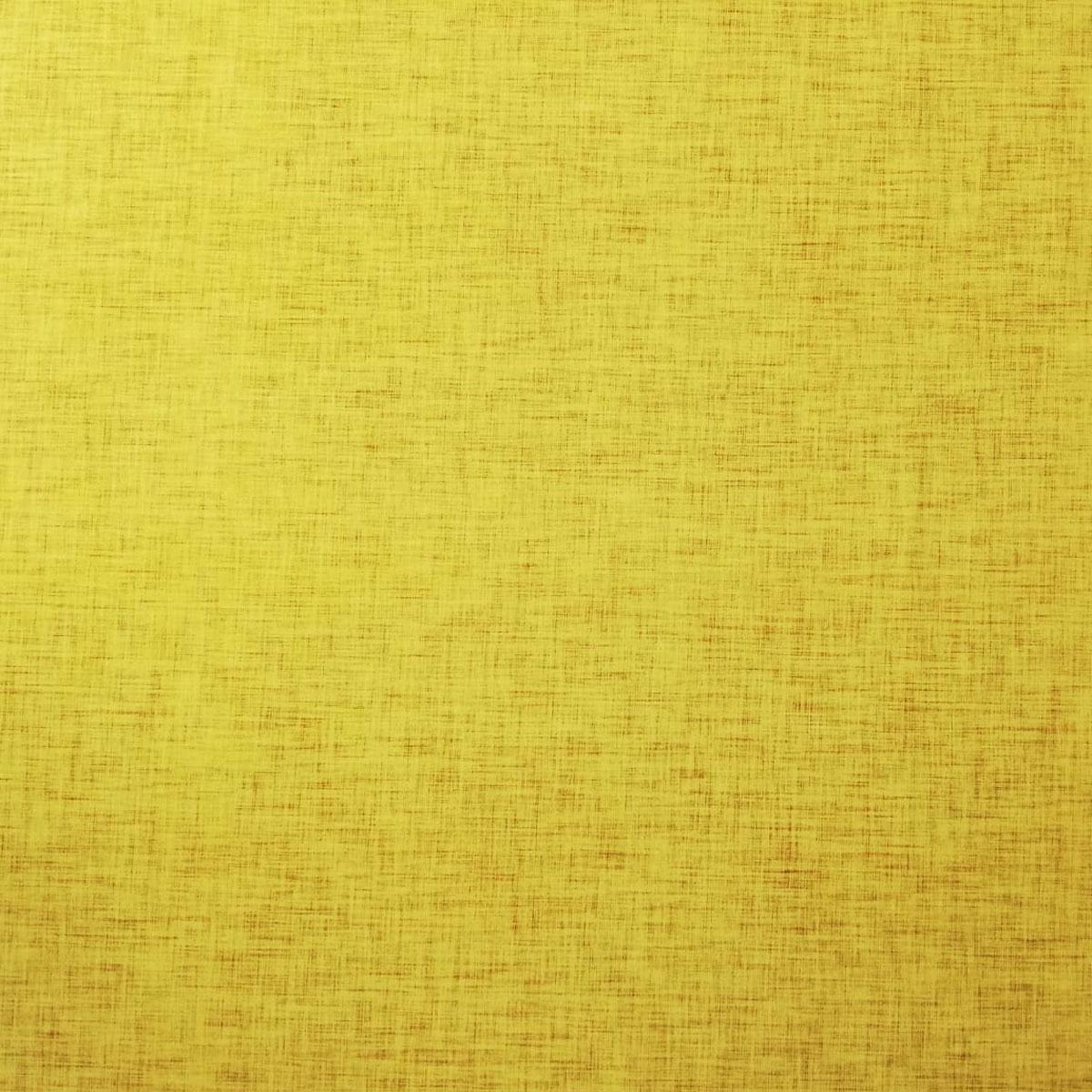 "Jersey Leinenprint ""gelb"" Meterware"