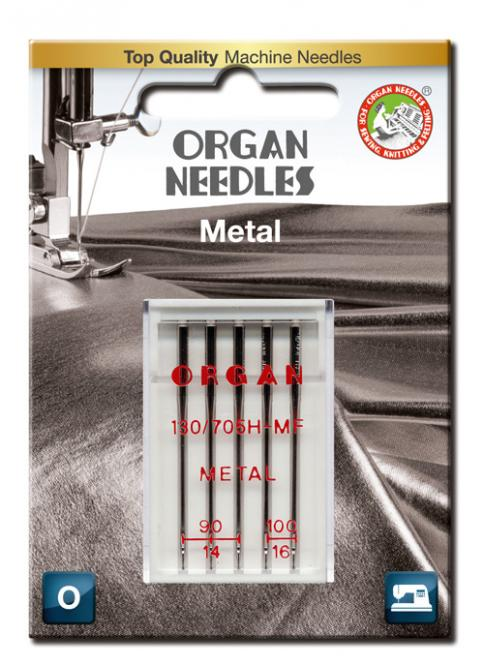 Organ Needles Organ 130/705 H Metal a5 st. 090/100 Blister