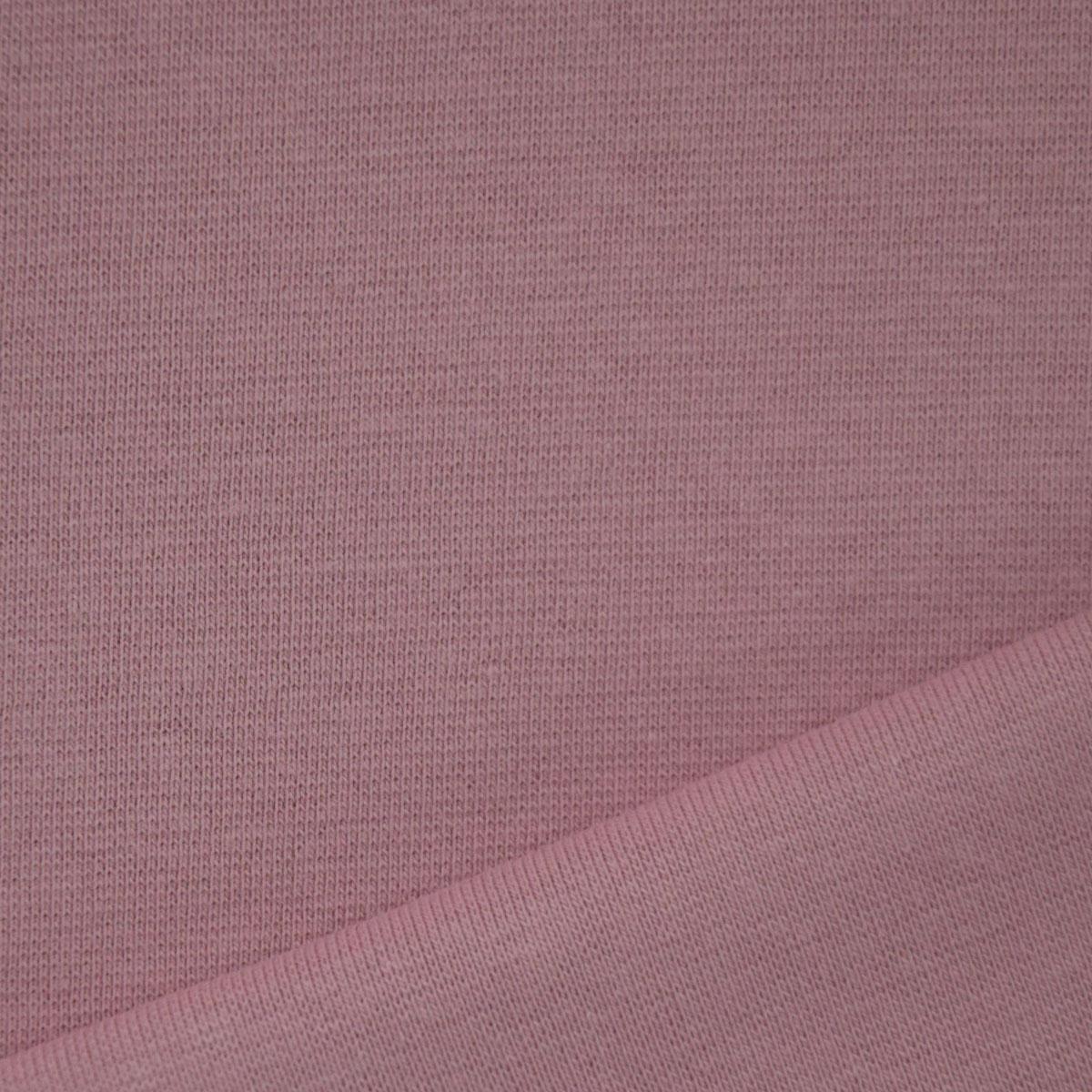 50cm Bündchen / Schlauchware alt rosa 5016
