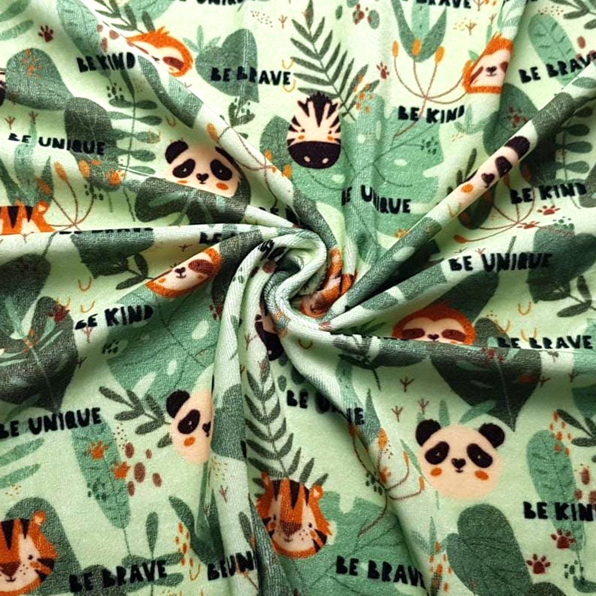"Nicki ""Jungle Friends"" all over Print Meterware"