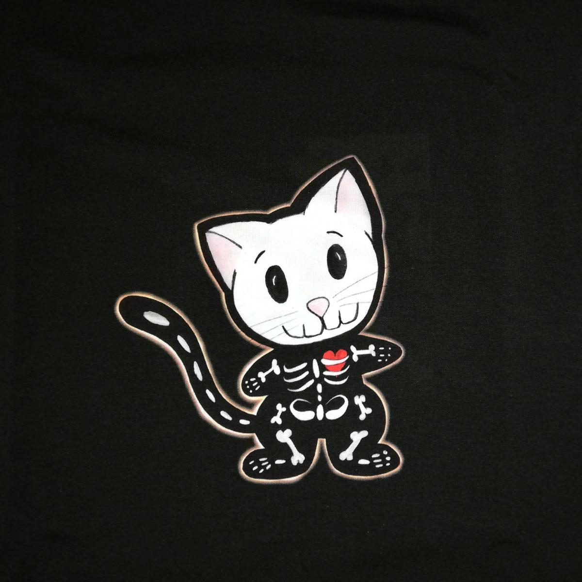 "B-Ware Jersey Panel ""Halloween Katze"" Stückware"