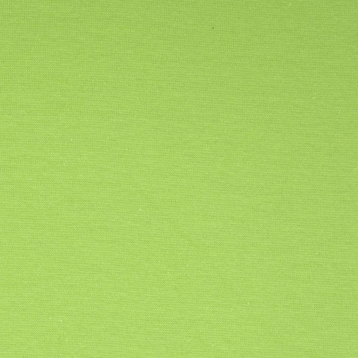 50cm Bündchen / Schlauchware glatt kiwi grün 4035