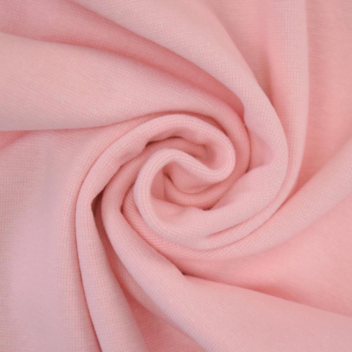 50cm Bündchen / Schlauchware glatt hell rosa 3017