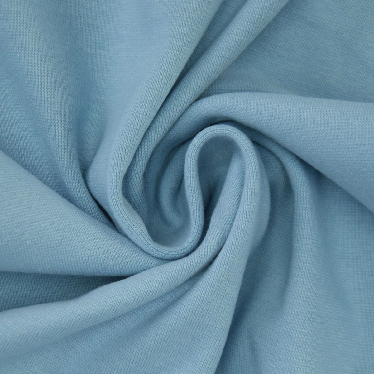 50cm Bündchen / Schlauchware pastell blau 6029