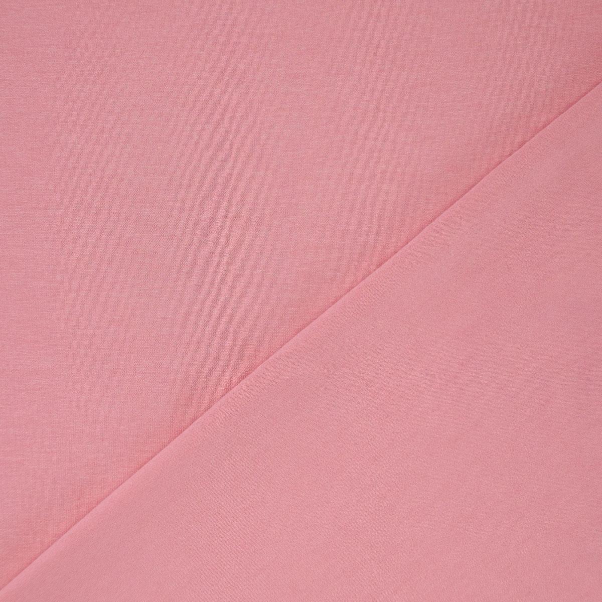 Baumwolljersey uni Meterware rosa 5017