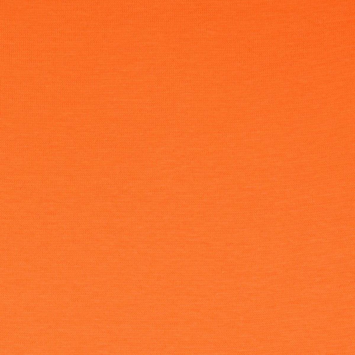 50cm Bündchen / Schlauchware glatt dunkel orange 5012