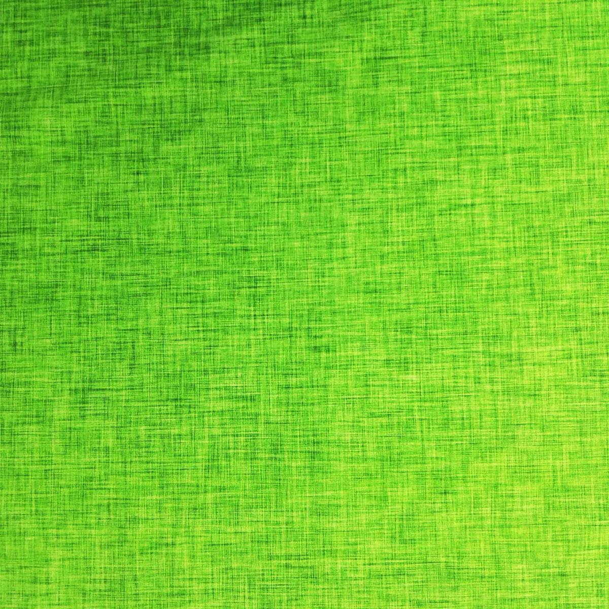 "Jersey Leinenprint ""grün"" Meterware"